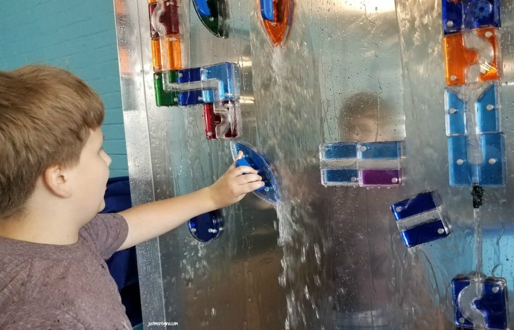 Check out what your kids can do at the Flow Exhibit at Impression 5 Science Museum - eattravellife.com