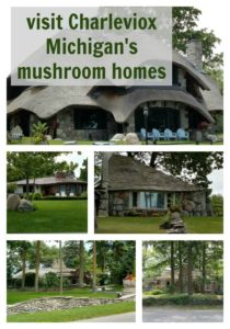 If you are looking for something unique and quirky on your next vacation, you need to make a stop and see these cool mushroom houses in Charlevoix Michigan.
