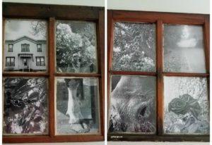 Window frame picture frame – diy