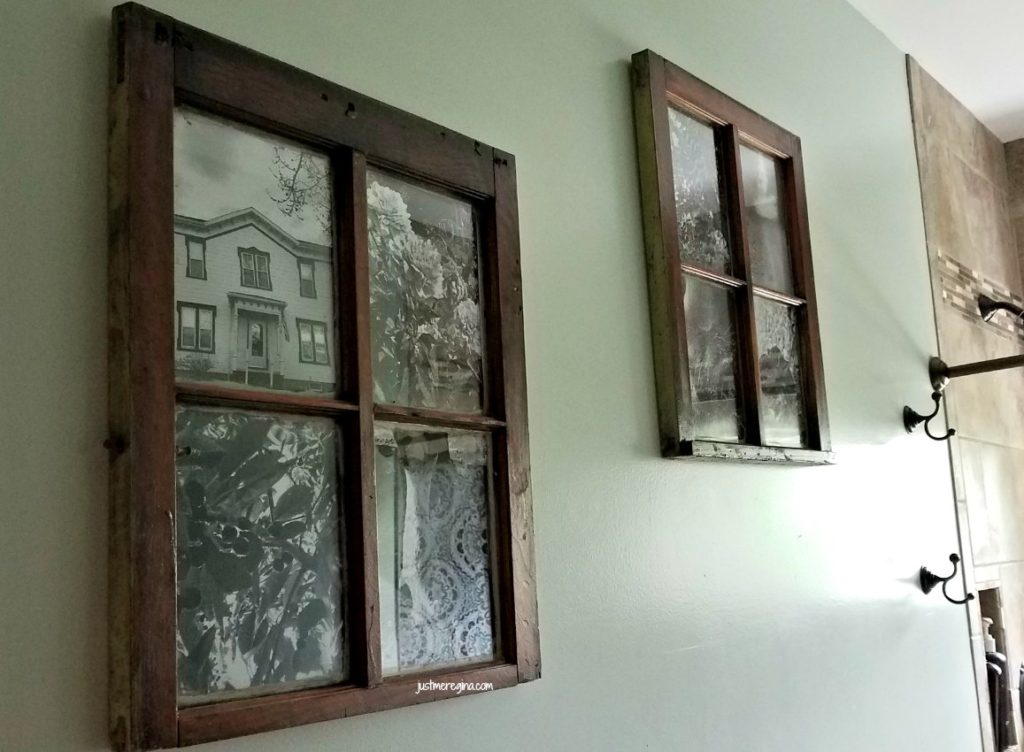 Window frame projects are so fun. Allowing you to be creative. See how you can turn the window frame into a picture frame.