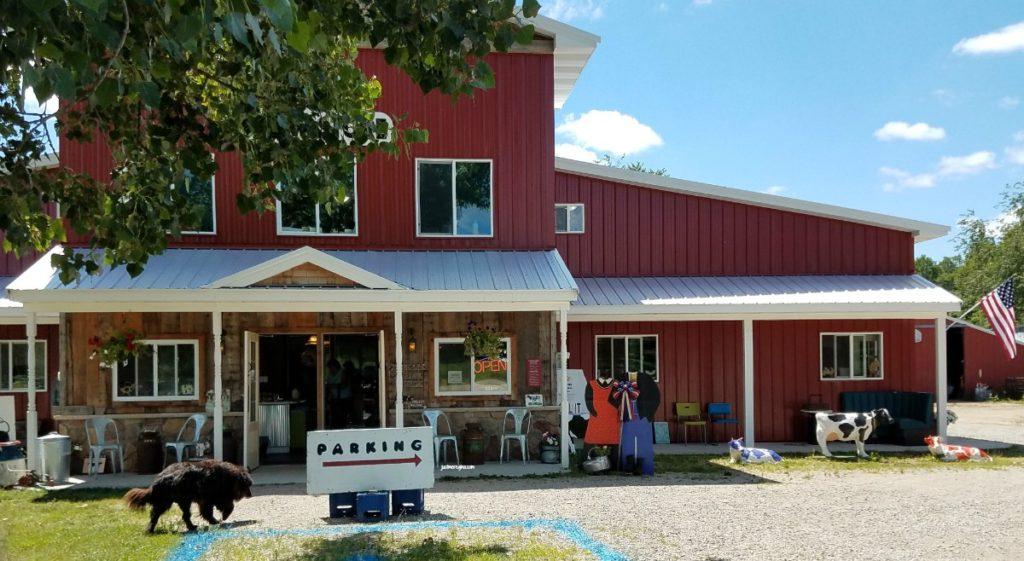 Visit Shetler dairy farm in Kalkaska Michigan. Buy fresh milk, watch milk be processed and visit a few dairy cows. eattravellife.com