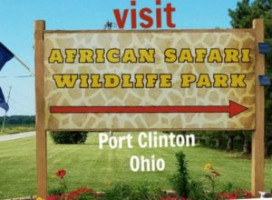 visit African Safari and Wildlife Park Port Clinton Ohio