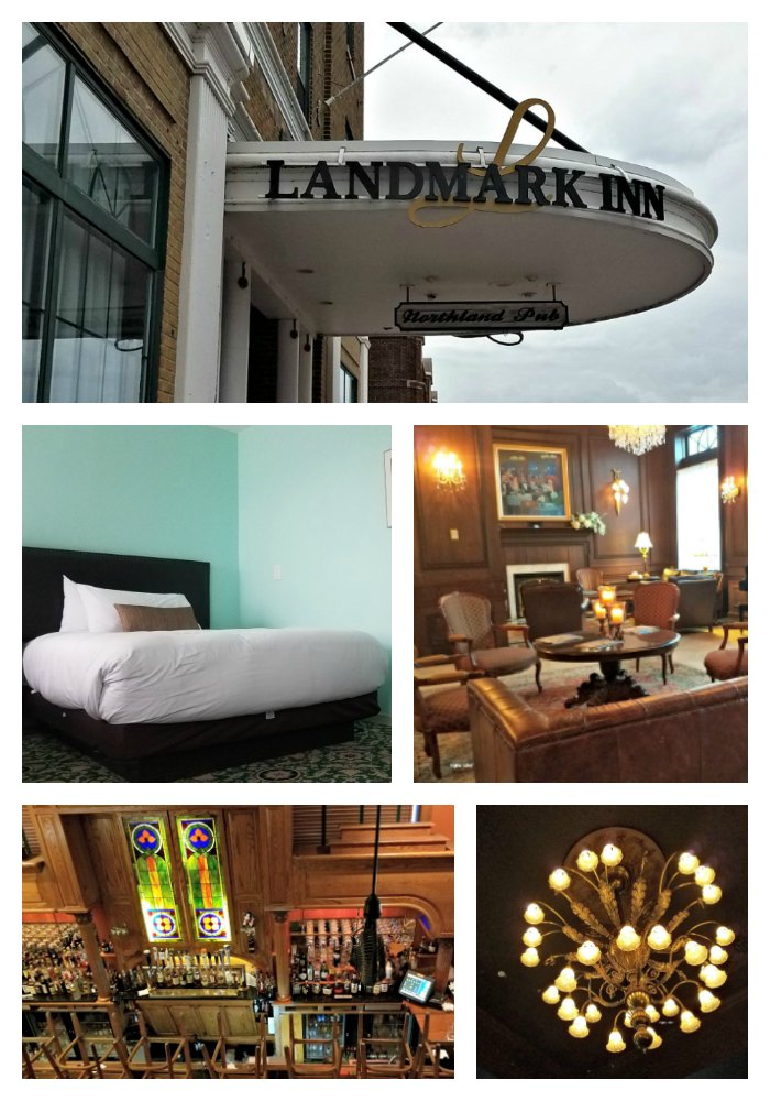 The Landmark Inn is located in downtown Marquette Michigan. The hotel is a great place to stay while visiting the local attractions like Pictured Rock. - JustMeRegina.com