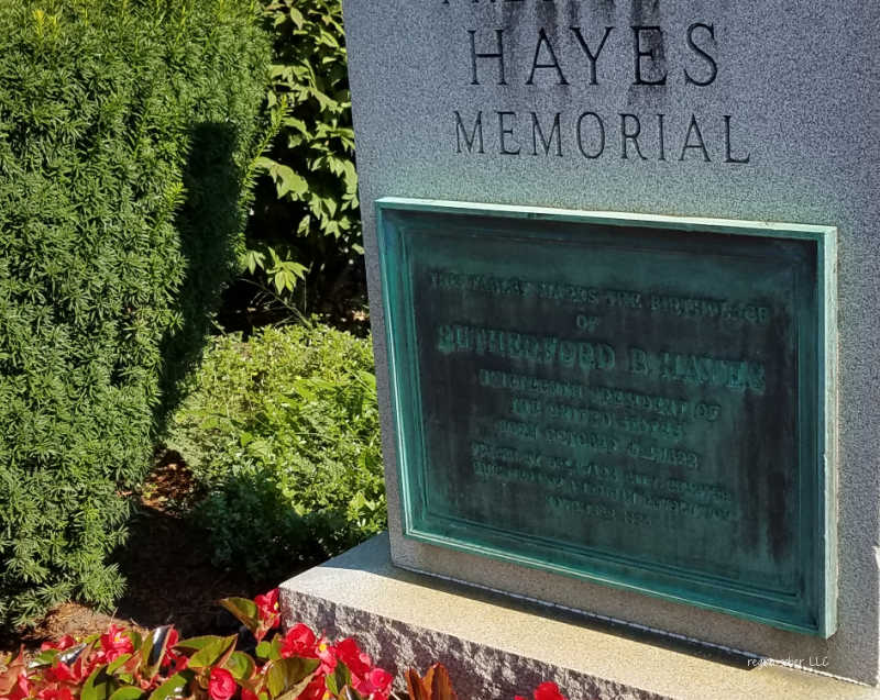 president hayes childhood home