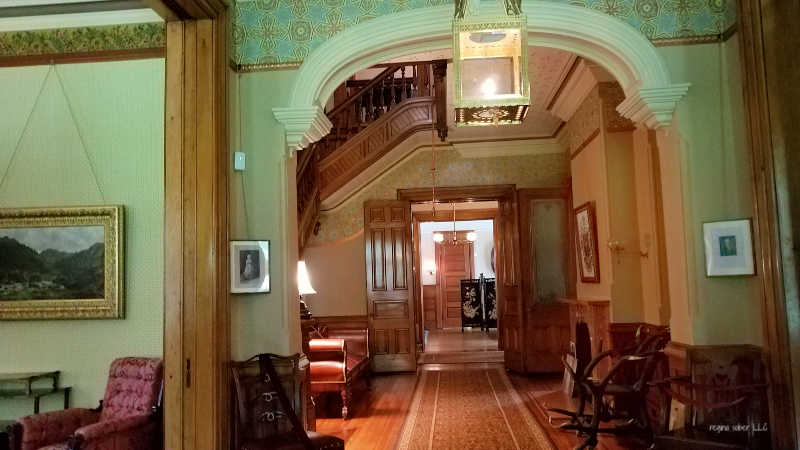 inside president hayes home