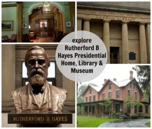 explore Rutherford B Hayes Presidential Home, Library & Museum