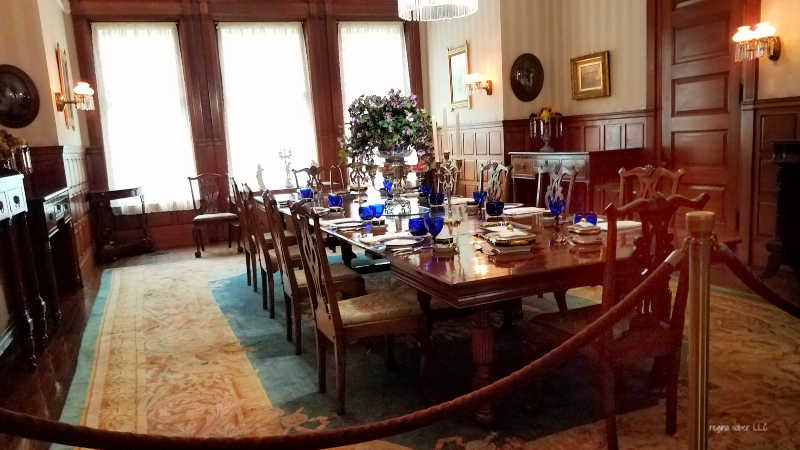 president hayes dining room