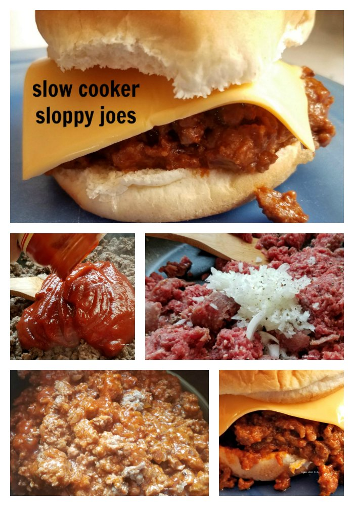Sloppy joes made in the slow cooker are perfect for graduations, bring a dish to pass and family get togethers. - eattravellife.com