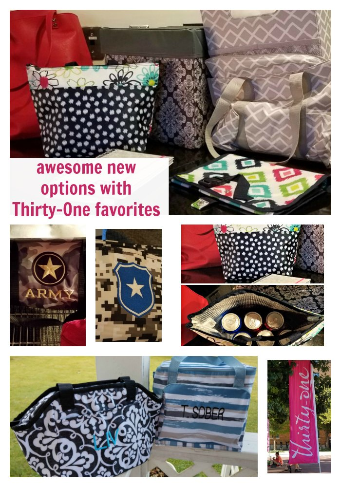 Have you seen what is new with Thirty-One recently? Your Thirty-One favorites are back in new prints and options!