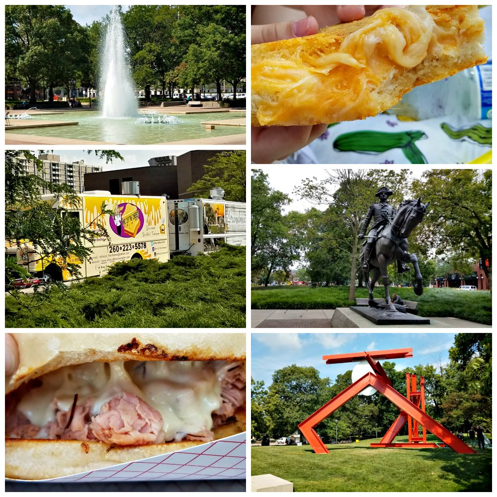 downtown fort wayne indiana and food trucks