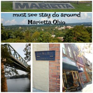 Must stay see and eat around Marietta Ohio
