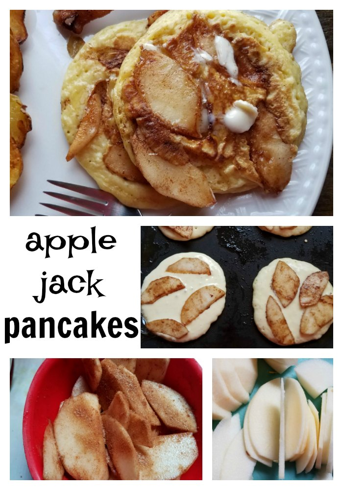 Take breakfast to another level with this apple jack pancake recipe. A great breakfast treat your family will love. - eattravellife.com