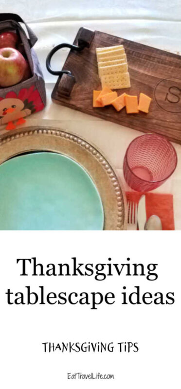 Make a beautiful tablescape this Thanksgiving with these simple ideas. Make your table beautiful and focus on the food and people.
