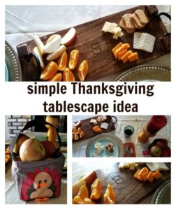 Make a beautiful tablescape this Thanksgiving with these simple ideas to decorate your table.