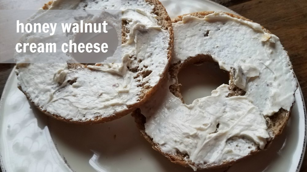 Why buy it when you can make it yourself? Make your own honey walnut cream cheese recipe whenever you need. Perfect for bagels and snacks.