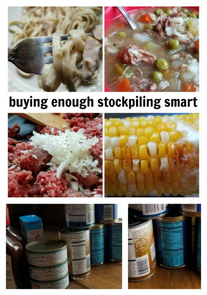You want to build a stockpile to save money and shop wisely. Check out these tips on buying enough of a stockpile, but not a wasting food. - eattravellife.com