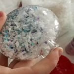 holiday ornaments glitter