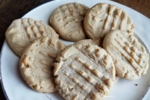 Make these delicious peanut better cookies for your next party. So much delicious peanut butter in every bite. Quick and easy recipe.