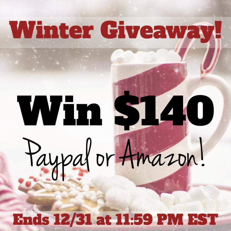 Enter to win the Winter holiday giveaway