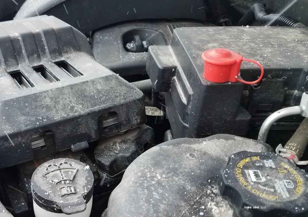 vehicle engine winterize