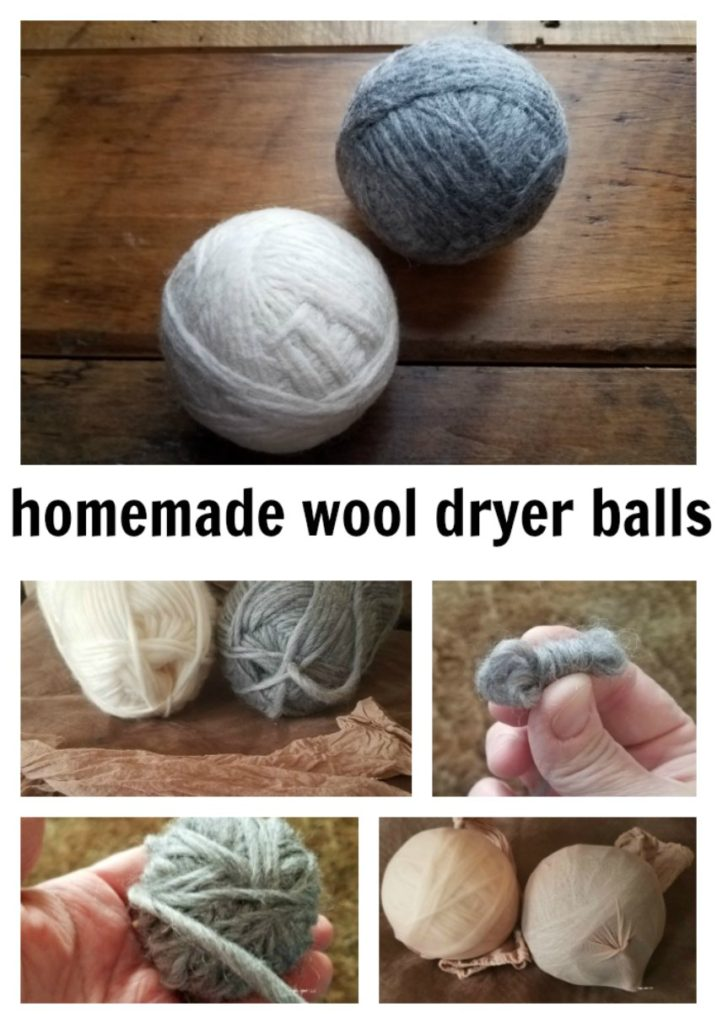 Make your own wool dryer balls. Make your clothes fluffy naturally, less static. It also runs your dryer less, saving money on electricity. - eattravellife.com