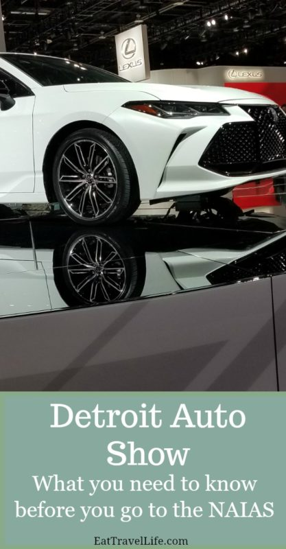 Considering going to the fabulous NAIAS - Detroit Auto Show? Check out my tips you need to know before you go and while you are there.
