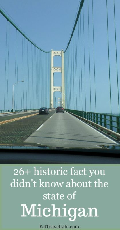 The state of Michigan has so many interesting facts. Check out these cool and interesting historic Michigan facts about Michigan's history, people and other cool things.