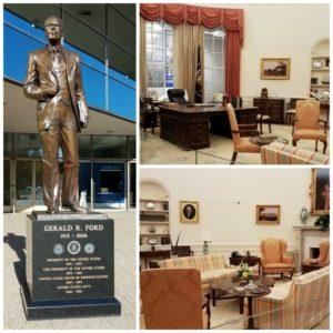 inside President Gerald Ford's Presidential Museum