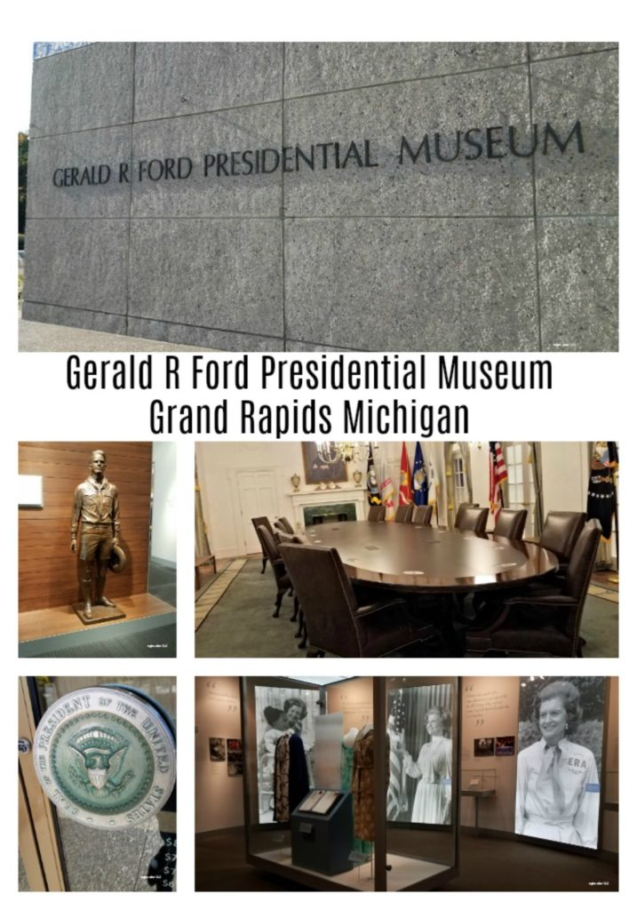 Add this to your must see stops when in Grand Rapids Michigan. The Gerald Ford Presidential Museum has some great roadside attractions outside and great historical exhibits inside. - eattravellife.com