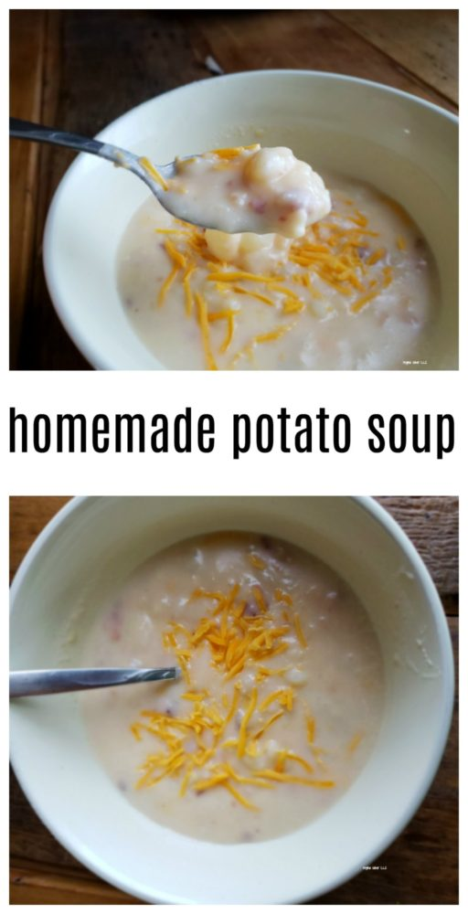Homemade potato soup does not last long in our home. This is a great comfort food recipe. It's super easy and only requires you use 1 pot to make it. - eattravellife.com