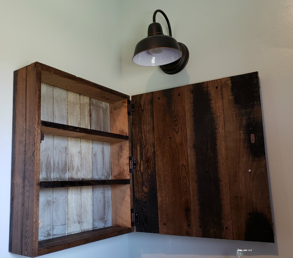 how to make your own medicine cabinet: diy project