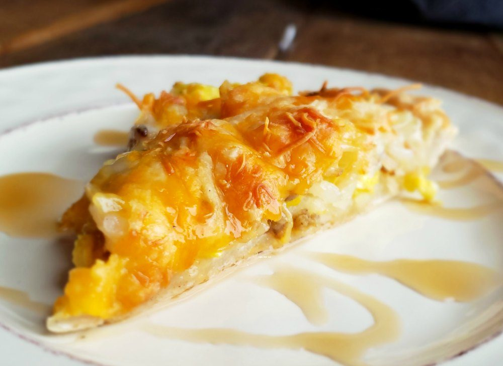 I love recipes where you can take leftovers and turn them into another meal. See how you make this homemade breakfast pizza easy.