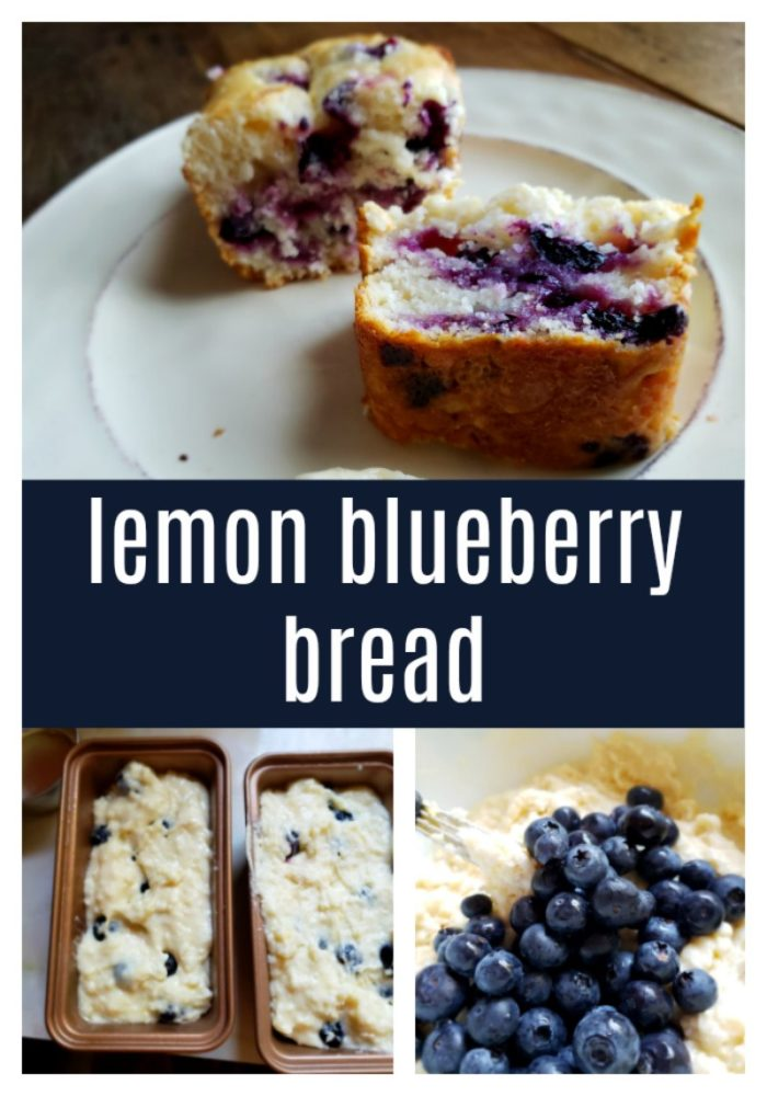 You don't have to wait until Summer to make this delicious lemon blueberry bread. Grab some blueberries and savor every delectable bite. Will you share or keep it all to yourself?