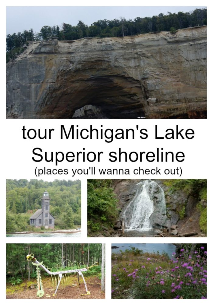 Planning a trip to Michigan's Upper Peninsula? Check out my must stop and experience locations along Michigan's Lake Superior Shoreline. Worth the trip up to the great unknown, lots to see! - eattravellife.com