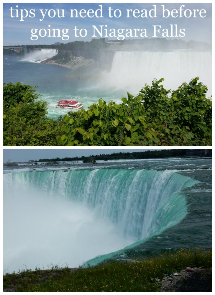 When visiting Niagara Falls Canada, it can be over whelming. Read these tips BEFORE you go, so you are prepared and have a more enjoyable trip.