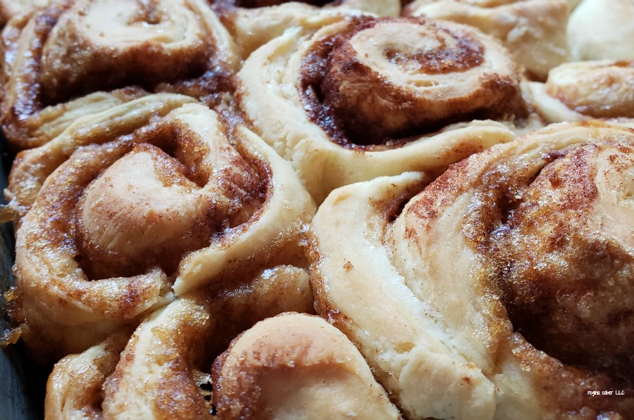 Make this light and delicious cinnamon roll recipe. Your family and friends will be asking you to you make them over and over. Great for gifts!