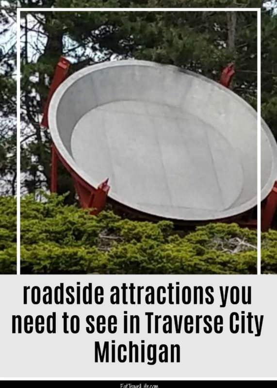 Lots of great things to see and explore in Traverse City Michigan, including these roadside attractions. Find some cool things to see & explore.
