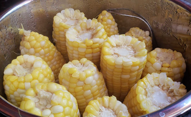 When you have a lot of sweet corn and want to eat it year round. See how you can, can sweet corn and enjoy your garden bounty year round.