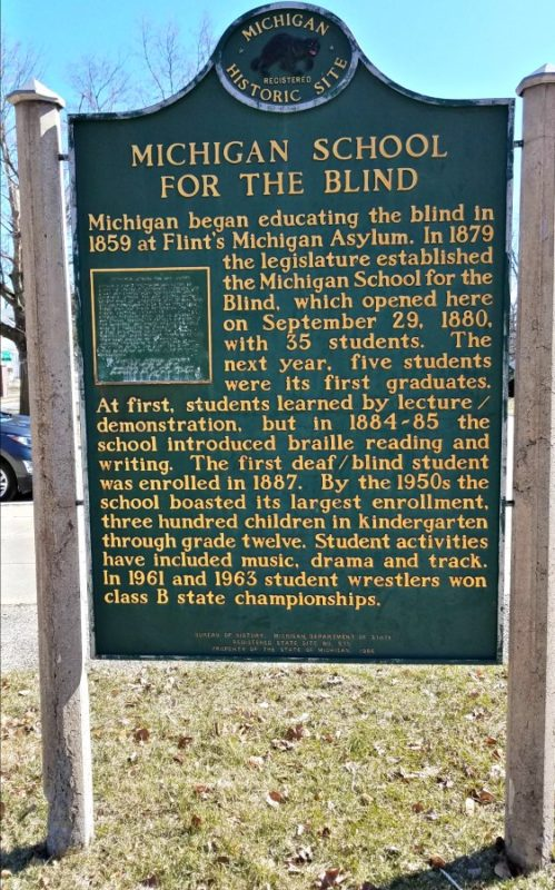 Do you love historical signs and learning about the places you visit? Have you seen the braille sign Michigan has? Yes, it's cool to see for yourself.