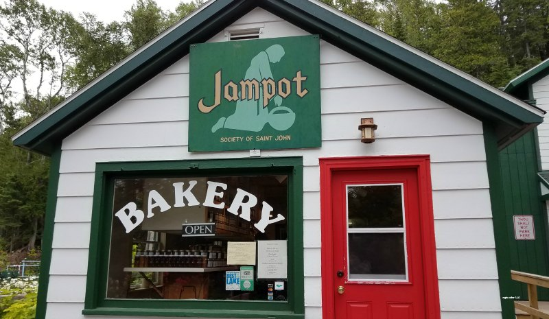 run by monks – check out the Jampot in Eagle Harbor Michigan