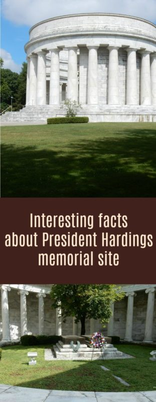 When you go to see President Warren G Harding's memorial and come home with so much crazy information. Who knew the cemetery could become the talk of the town?