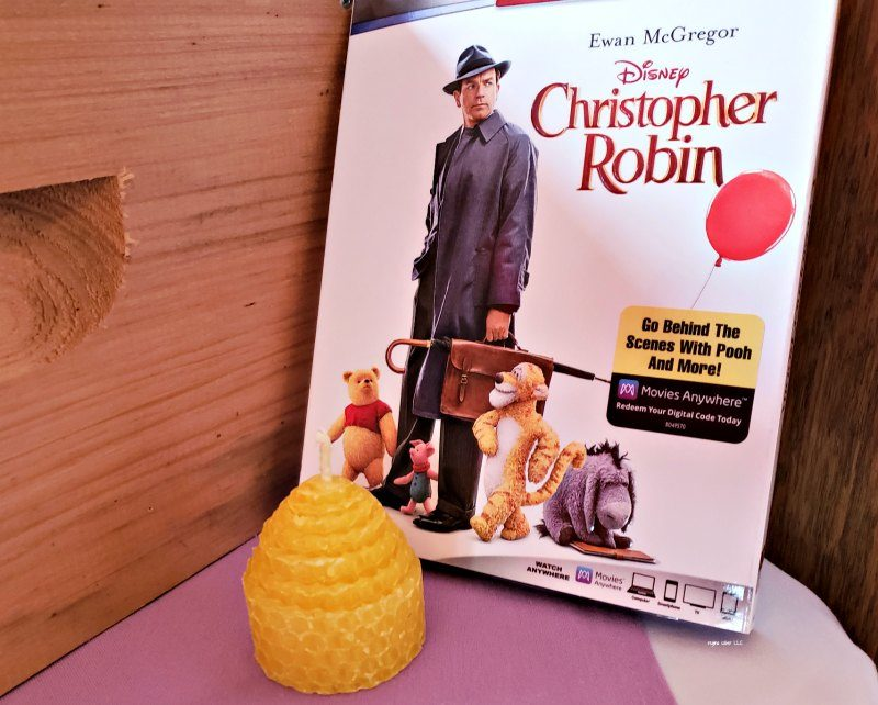 Growing up doesn't mean you have to forget. Disney's new movie, Christopher Robin is now available on DVD and digital HD. Watch your favorite honey seeking bear, Tigger, Piglet and Eeyore remind Christopher Robin about what is most important.