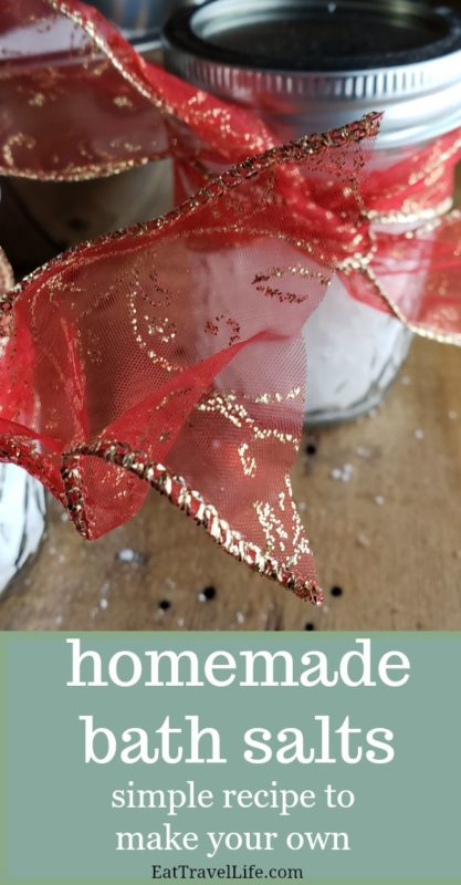 Need an inexpensive gift? Here is a wonderful gift your friends and family will love. homemade bath salts. Perfect gift for those who like to be pampered.