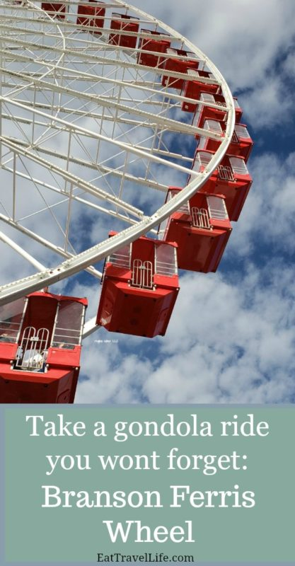 Ever ride in a gondola in the air? I bet you have. Check out what it's like to enjoy a ride on Branson's Ferris Wheel in Branson Missouri.