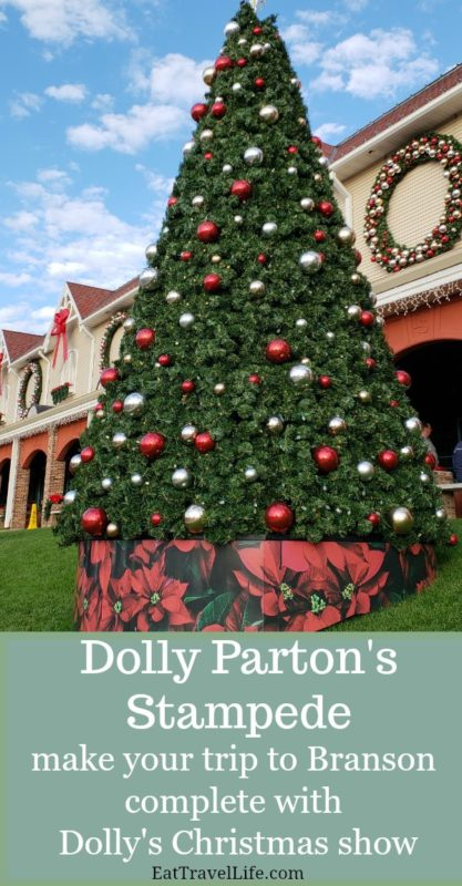 make Christmas complete in Branson at Dolly Parton's Stampede