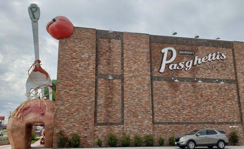 wolrds largest meatball Pasghetti's Branson