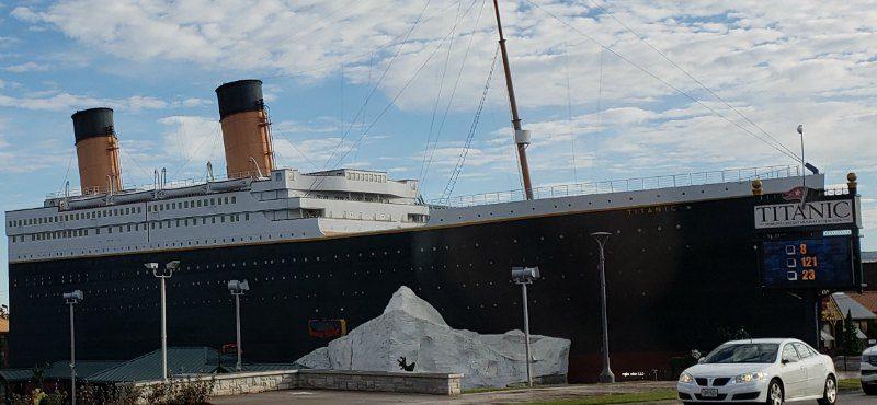 Exterior Titanic Museum Branson
