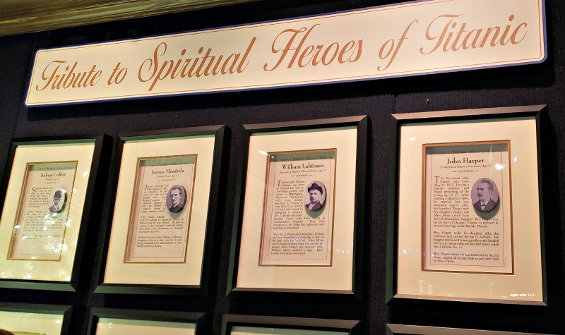 Spiritual Heros Titanic Branson Museum