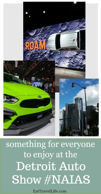 See what is happening at the 2019 Detroit Auto Show. It's all your favorite vehicles under one roof! Did you know you could do that at an auto show? #ReinvestNAIAS