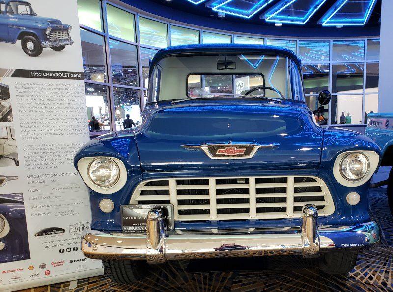 1955 Chevy 3600 Detroit Auto Show